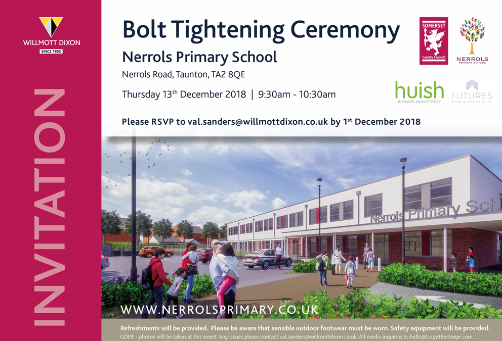 Official Bolt Tightening Ceremony
