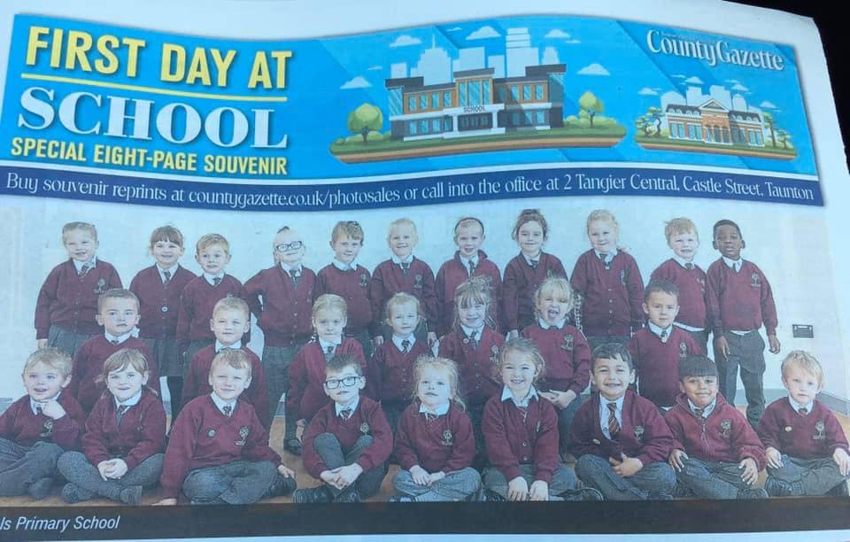 Front page of the Gazette